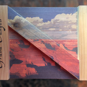 Grand Canyon Notecards in a handmade box by Thunder River Studio