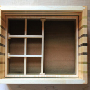 Handmade jewelry box tray