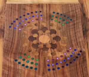 Wood keepsake or valet box